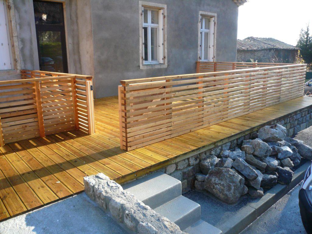 Notre offre am nagement ext rieur moulin expert for Bois construction exterieur